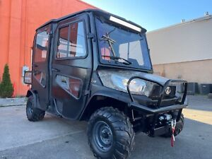 Camo Kubota Rtv x1140 Cpx Heat Cab Crew Or Extended Dump Bed Brand New Winch