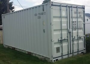 Shipping Container 20ft No Dents No Rust No Grafitti