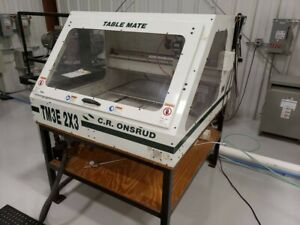C r onsrud Cnc Router Machine Tm2x3e 2013 Currently Under Power And In Service