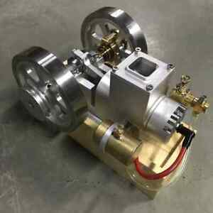 Upgraded Horizontal Water Cooled Gasoline Hit Miss Combustion Engine Model