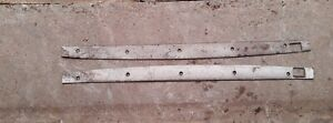 Model A Ford Coupe Door Opening Header Strips 1930 1931