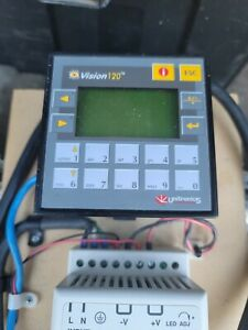 Unitronics Vision 120 With Power Supply Sensors And Relay Rail Accessories