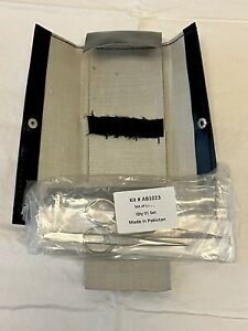 Dissecting Medical Kit set Of 7 Pieces Kit Ab1023 Brand New Sealed