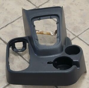 98 01 Dodge Ram Floor Console Cup Holder Manual Shifter 4x4 Oem Gray Agate
