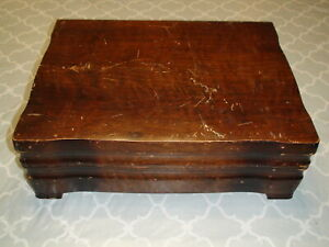 1847 Rogers Bros Brothers America S Finest Silverplate Chest Walnut Case Only
