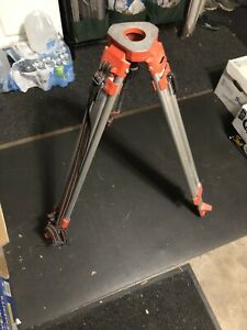 David White Tripod For Automatic Level Transit Very Good Condition Made In Usa