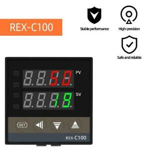 Temperature Controller Thermostat Digital Dual Display Industrial Thermocouple