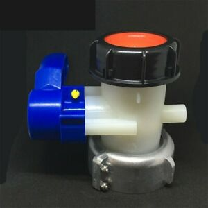 Standard Stillage Tank Tap Outlet Valve Water Container Transfer Adapter