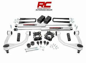 Rough Country 35 Bolt On Lift Kit Withn3 Fits 2007 2021 Toyota Tundra 76830
