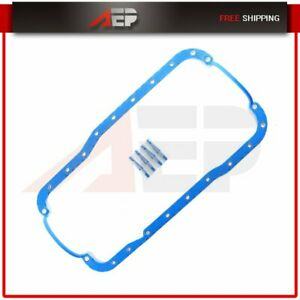 Oil Pan Gasket Fits 85 01 Ford Mustang Lincoln Continental 5 0l V8 Ohv 16v