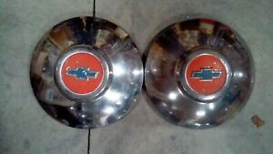 1949 1950 1951 Chevrolet Chevy Dog Dish Hub Cap Chrome Wheel Cover Made In Usa
