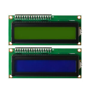 Lcd 1602 Blue green Screen With Backlight Display 1602a 5v Module For Arduino