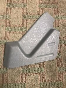 09 14 Ford F 150 Front Seat Drivers Side Trim Cover Panel By Lever Gray