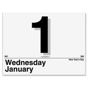 At A Glance Aagk150 Today Is Daily Wall Calendar Refill
