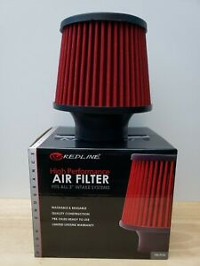 Redline 3 High Performance Intake Air Filter Washable And Reusable New In Box