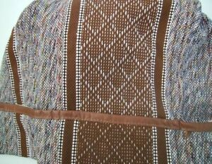 Small Mid Size Truck Bench Seat Cover Brown Saddle Blanket New