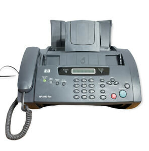Hp 1040 Inkjet Fax Machine With Built in Telephone scan Print Sdgob 0403 01