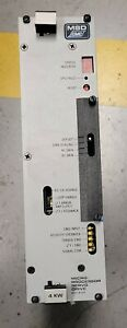 Msd Cmc S3004m000008 Universal Instruments Gsm 44520101 Y axis Servo Amplifier