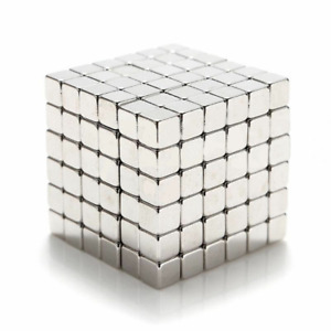 100 Strong Neodymium Magnets 3mm Cube Magnetic Block Cubes Square 3mmx3mmx3mm