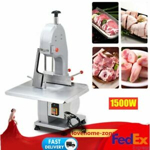 110v Commercial Electric Bone Sawing Machine Frozen Meat Fish Cutting