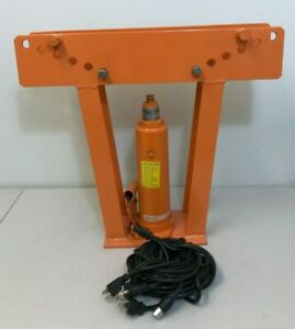 Central Hydraulics 12 Ton Pipe Bender 32888 missing Some Pieces
