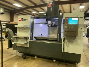 Haas Cnc Vf3ss Yt Milling Machine W extended Travel Superspeed Probe 12456