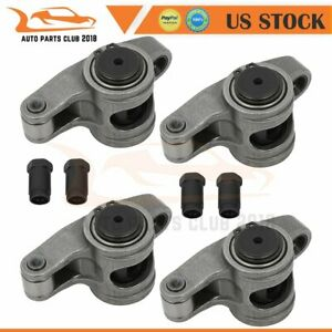 Stainless Steel Roller Rocker Arms For Small Block Chevy Sbc 350 7 16 1 5 Ratio