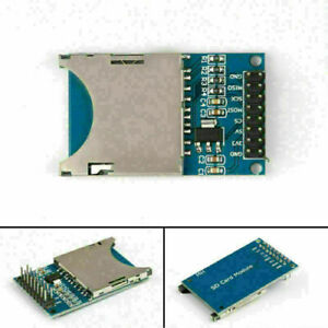 5x Sd Card Module Slot Socket Reader Fit For Arm Mcu Read And Write Cn