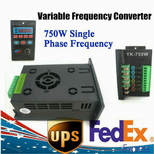 220v Single Phase To 3 Phase Frequency Inverter Converter Variable Drive Vfd Usa