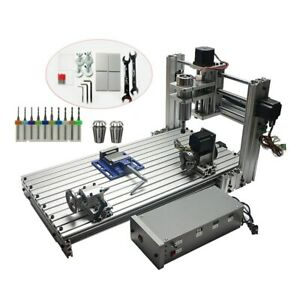 Usa Stock 110v Cnc 3060 Diy Wood Routers Usb Port 5 axis Mini Engarving Machine