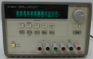 Agilent E3631a Triple Output Power Supply 80w 5 Tested And Working