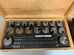 Dumont Minute Man Broach Set No 100 2 3 Bushings 17 Total With 3 Broaches