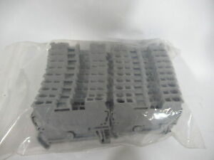 Phoenix Contact St 1 5 Terminal Block 800v 2 5mm Lot Of 20 Grey Used