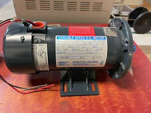 Boston Gear Variable Speed Dc Motor Pm950atf 1