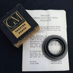 F Nos 1960 1969 Chevrolet Corvair Fc Engine Rear Housing Seal Gm 6257476