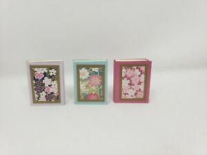 Small Sticky Note Pads 1 1 2in X 2in Handmade Set Of 3 Washi Paper