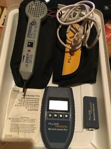 Fluke Networks Microscanner Pro And Accessories