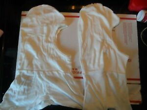 8 National Safety Apparel H31lk Flame Resistant Hood White Nomex r rayon r