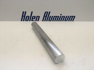 2 Pieces 1 3 8 X 12 Aluminum Round Rod Solid 6061 t6 1 375 Bar Stock Extruded