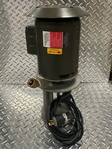 Coolant Pump 3 4 Hp Single Phase Twist Lock 93 30 0126a Brand New For Your Haas