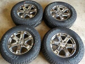 2021 Ford F150 18x7 5 Factory Wheels 6x135 And Goodyear 275 65r18 Tires