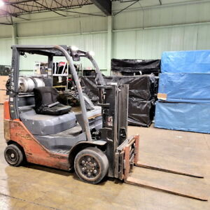 Toyota Forklift 6 000 Lift Cap Heavy Duty Propane Forklift With Clamp Lift