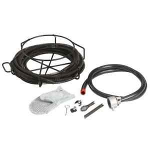 Ridgid A 30 Drain Cleaning Cable Kit Cables Cleaning Tools 5 8 In X 7 1 2 Ft New