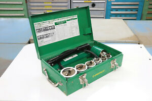 Greenlee 7506sb Knockout Punch Set 7506 Hydraulic 1 2 2 Ss