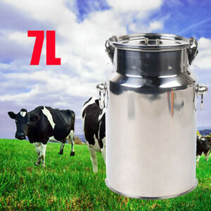 7l Electric Cow Milking Machine With Vacuum Pressure Pump Cow Goat Sheep Milker