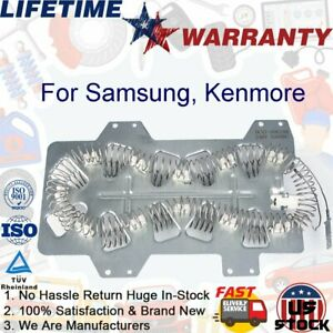 Heating Element Dc47 00019a For Samsung Kenmore Dryer Replacement 5300w 240v Us