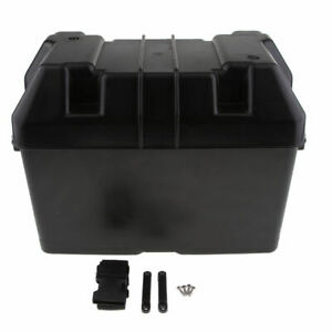 Battery Box With Top Vent For Rv Automotive And Marine Batteries Durable