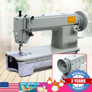 Leather Sewing Machine Automatic Industrial Lockstitch Leather Fabrics Sewing