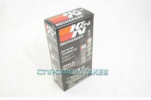 New K N Recharger Air Filter Cleaner Kit Included Washer Cleaner And Oil