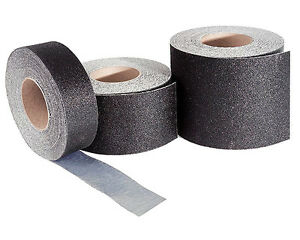 12 Wide Safety Track Floor Surfacing Tape Roll Black